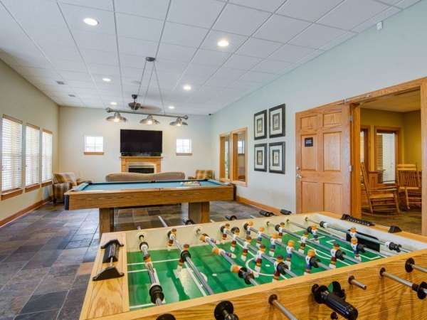 Clubhouse - Foosball and Billiard Table