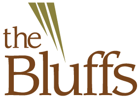 The Bluffs  Logo